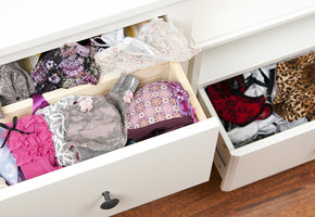 Организуем шкафчик с нижним бельем