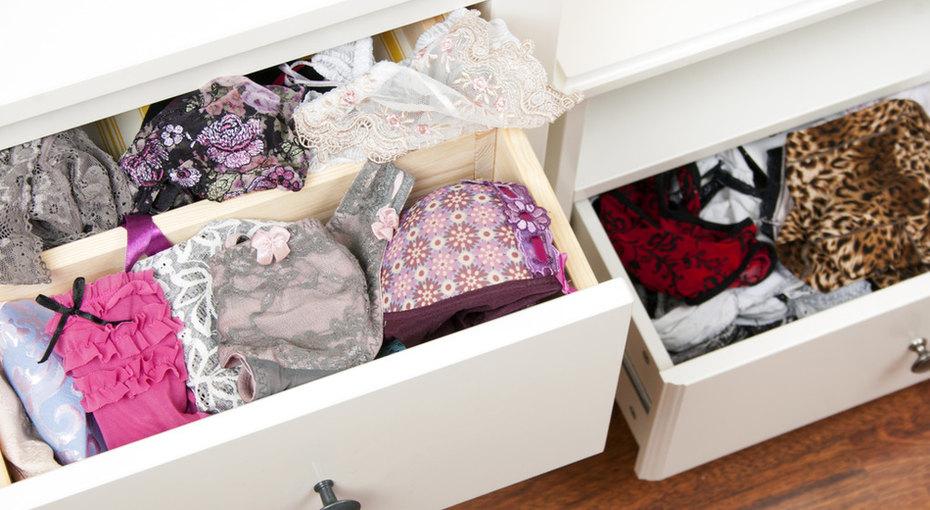 Организуем шкафчик снижним бельем
