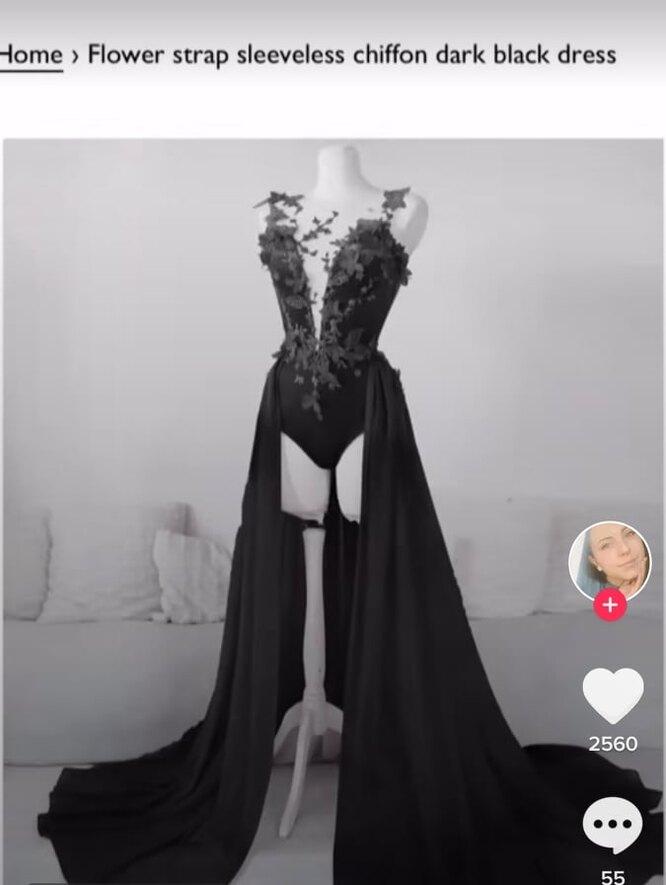 Это платье Лили заказала для своей свадьбы