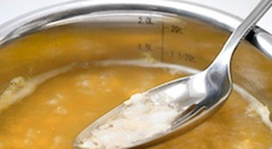 Как снять пену ижир сбульона