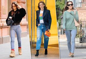 Звездный деним: какие джинсы носят знаменитости и супермодели