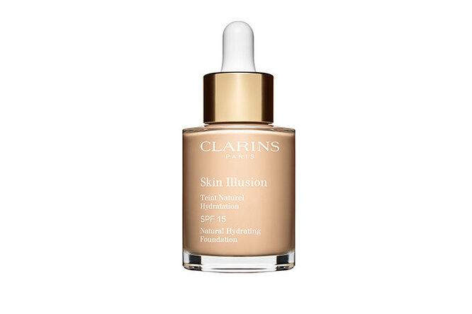 Увлажняющий тональный крем с легким покрытием Skin Illusion SPF 15 от Clarins