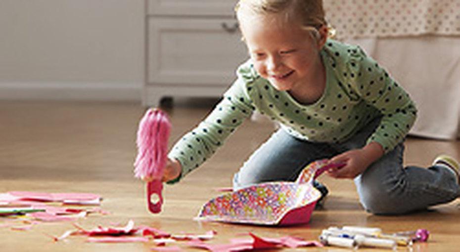 Как приучить ребенка кпорядку