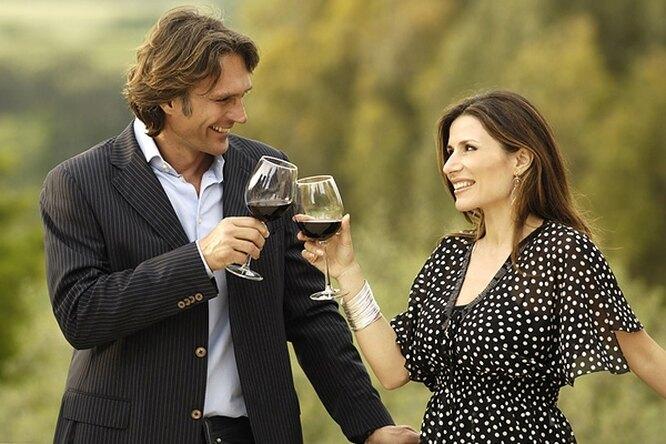 Полбутылки вина вдень — полезно!