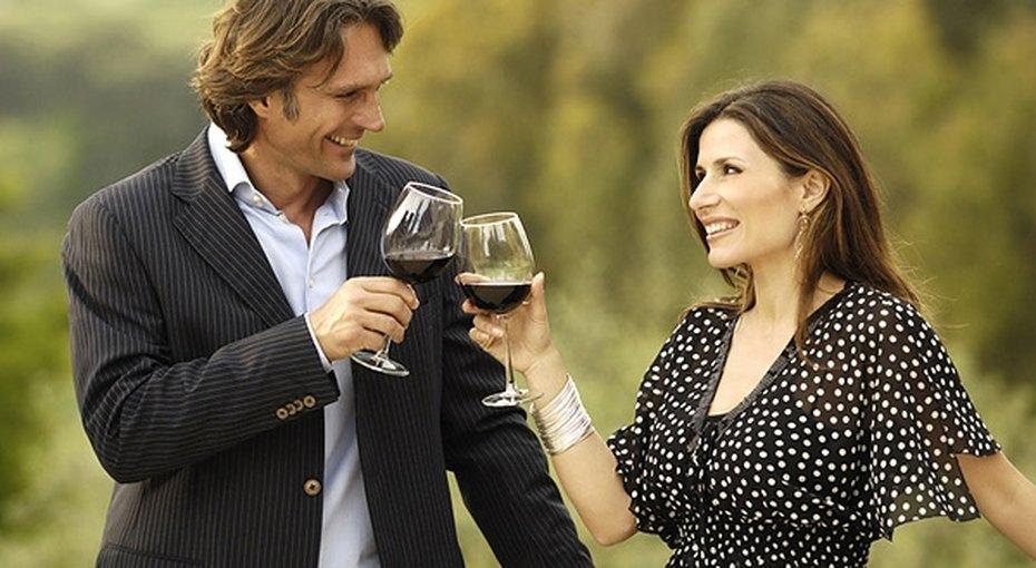 Полбутылки вина вдень - полезно!
