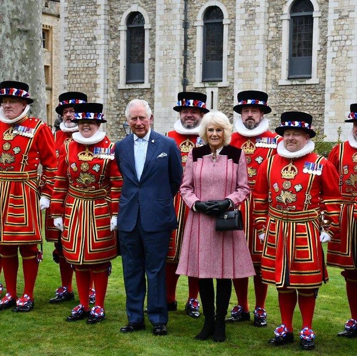 Принц Чарльз ссупругой