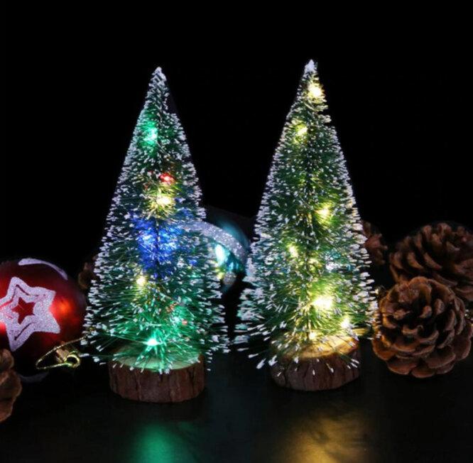 Vovotrade Trading Store, Рождественская елка со светодиодными лампами, 430 руб