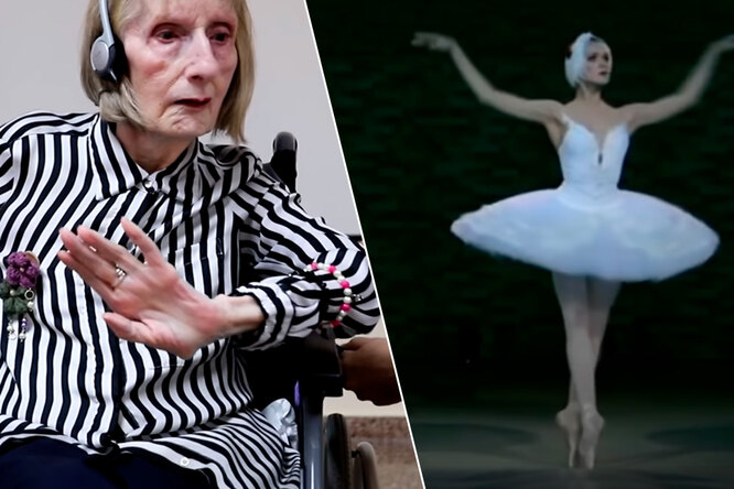 Видео примы-балерины сболезнью Альцгеймера стало вирусным итрогает дослез