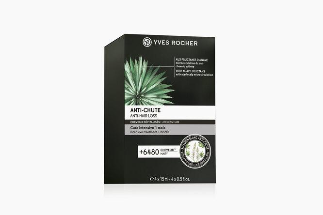 """Интенсивный курс """"Против выпадения волос"""", Yves Rocher"""