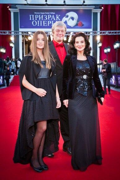 Екатерина, Александр и Саша Стриженовы