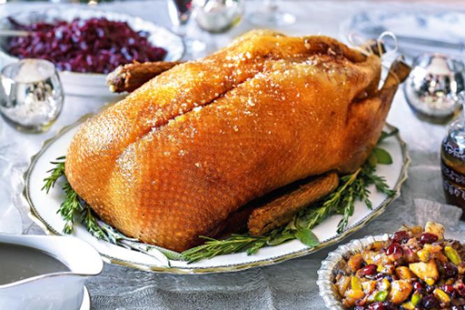 Как запечь рождественского гуся? Правильный рецепт!
