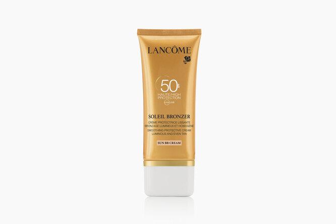 Увлажняющий солнцезащитный BB-крем для лица Soleil Bronzer SPF 50, Lancôme