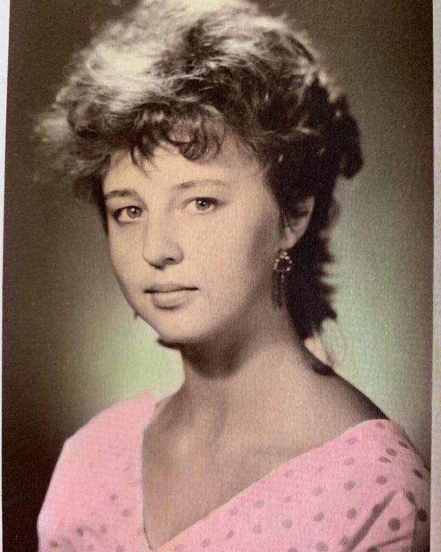 Наталья Сенчукова в 1986