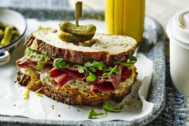 Сэндвич с говядиной
