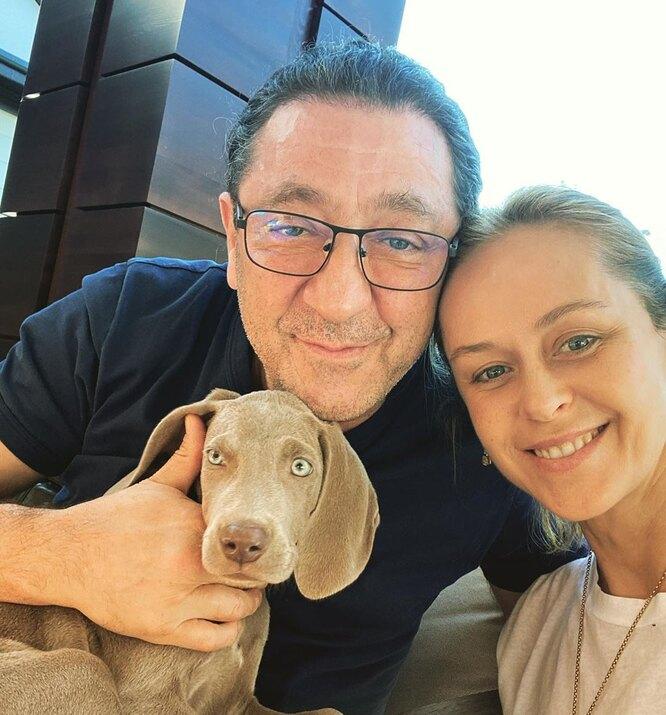 Григорий Лепс с женой Анной Шаплыковой (Лепс)