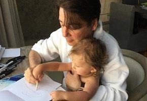 «Идеальный дедушка!» Валентин Юдашкин опубликовал трогательное фото с подросшим внуком