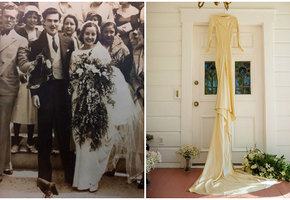 «Сделано на совесть!» В платье, сшитом вручную, вышли замуж четыре поколения