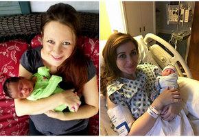 Беременная акушерка приняла роды у пациентки за минуты до собственных