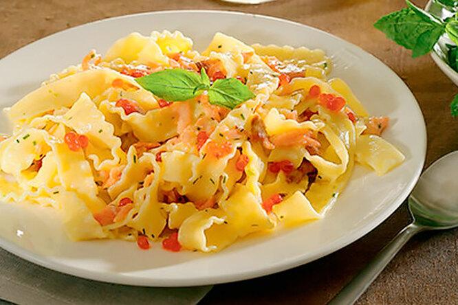 Мафальдине со сливочным соусом