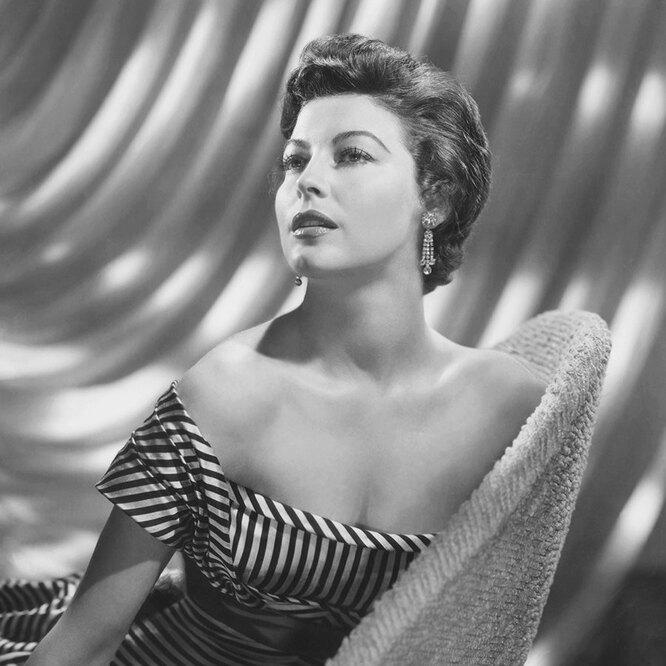 Ава Гарднер, 50-е годы