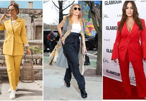 5 звезд с пышными бедрами, которые умеют носить брюки