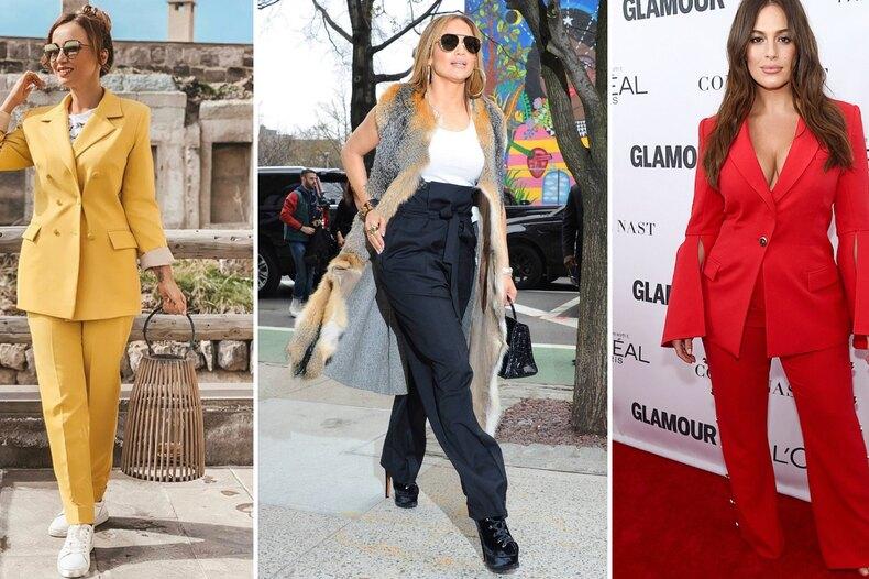 5 звезд спышными бедрами, которые умеют носить брюки