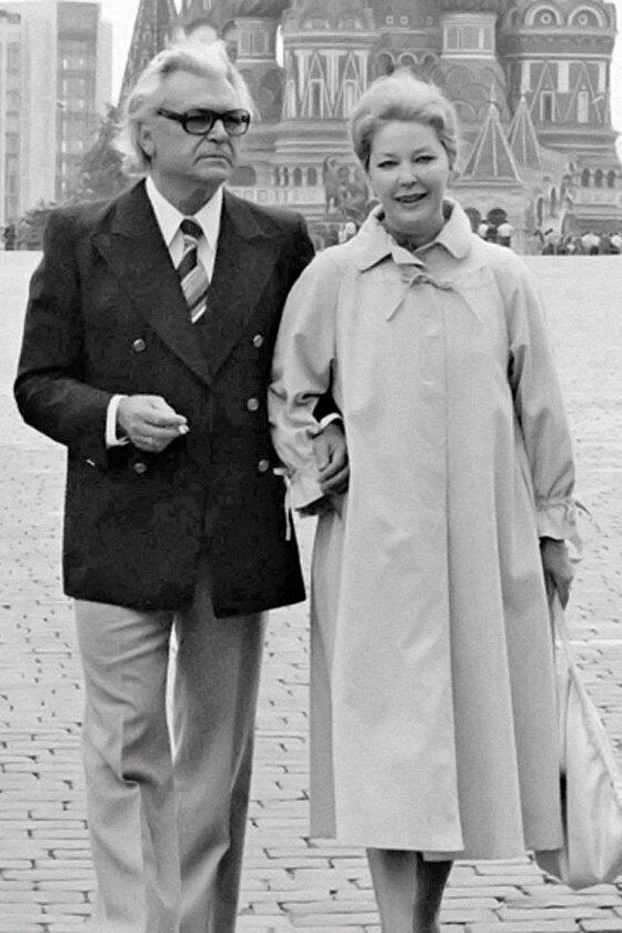 Ирина Скобцева и Сергей Бондарчук