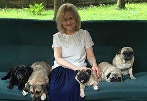 «Хозяюшка!» Дарья Донцова разрешает собаке вылизывать тарелки после готовки