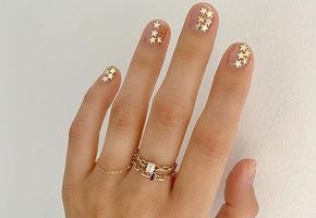 Стразы на ногтях — главный весенний тренд маникюра