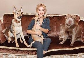 Ольга Орлова помогла спасти собаку от жестокого хозяина