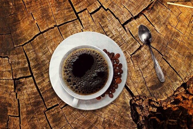 Кофе, кофе в чашке, черный кофе, черный кофе в чашке