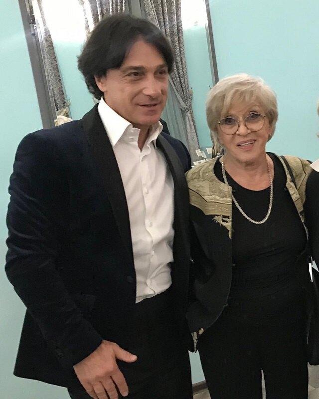 Эвклид Кюрдзидис и Алиса Фрейндлих