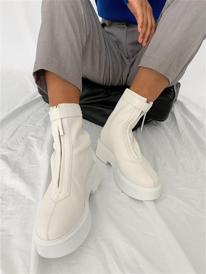 Белые ботинки, Lera Nena, 16 990 руб