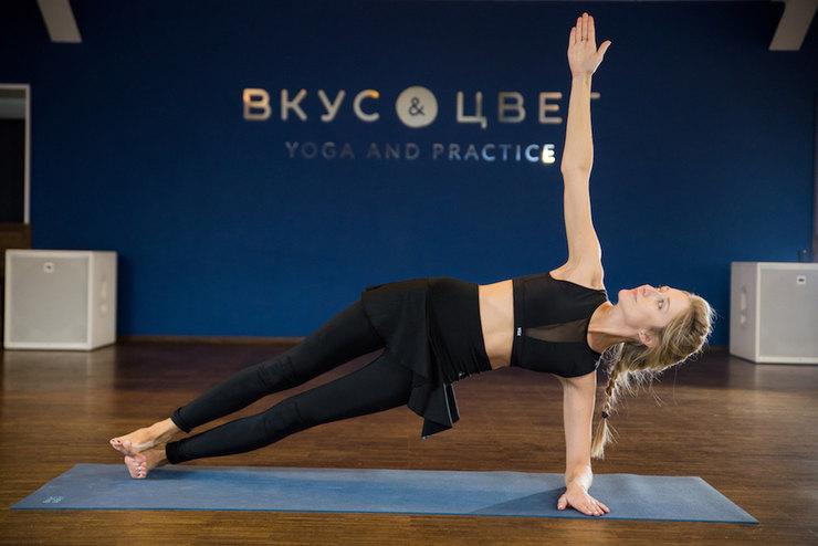 йога для похудения талии или
