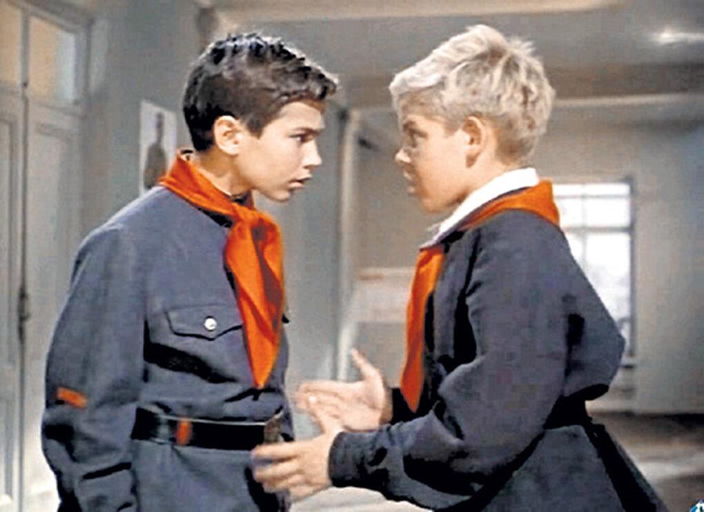 """кадр из фильма """"Старик Хоттабыч"""", 1956 г."""