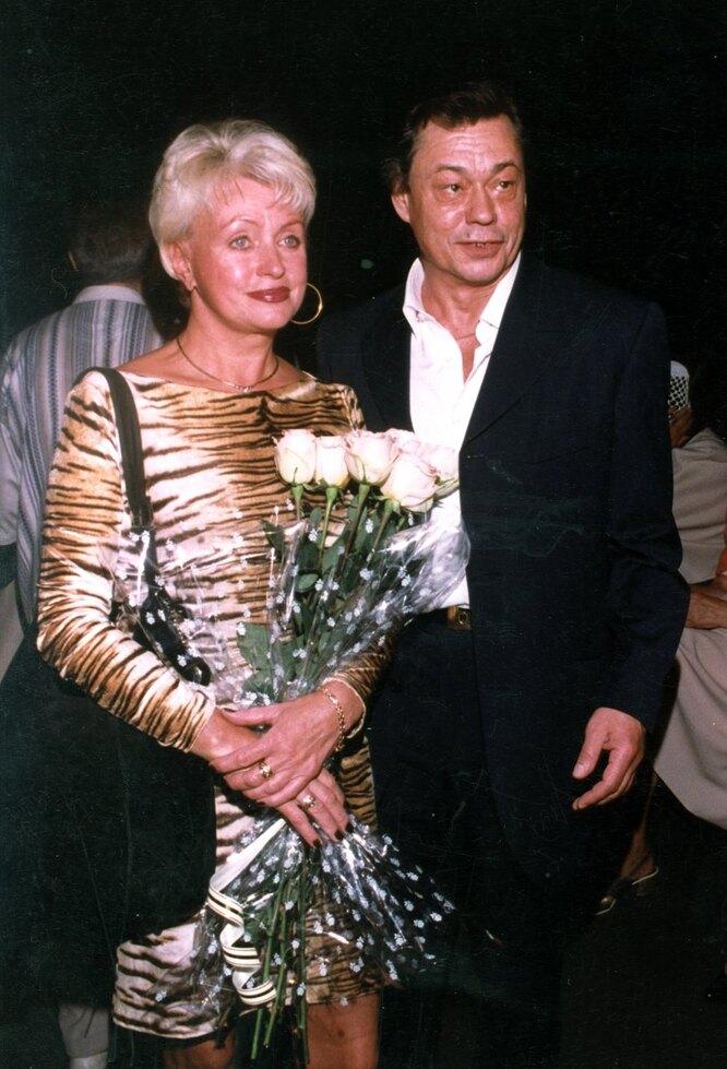 Никоолай Караченцов и Людмила Поргина фото