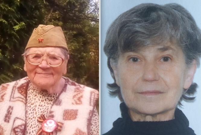 Так и не были найдены... Антонина Рогова, 88 лет, Татьяна Зубова, 73 года