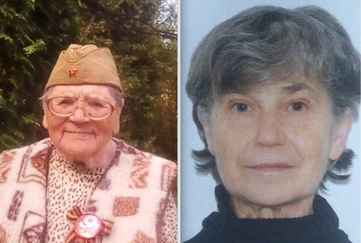 Так ине были найдены... Антонина Рогова, 88 лет, Татьяна Зубова, 73 года