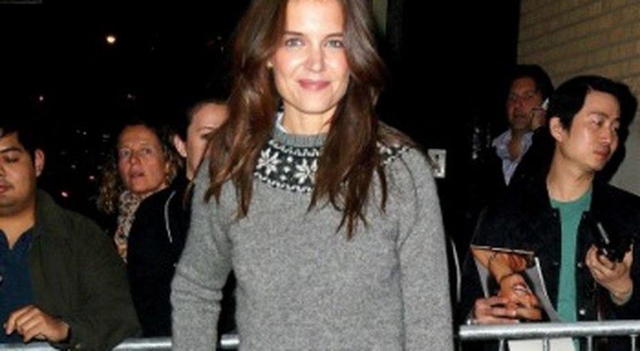 Звездный стиль: свитер сорнаментом