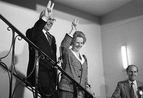 «Вредная баба»: как Маргарет Тэтчер нашла себе идеального мужа
