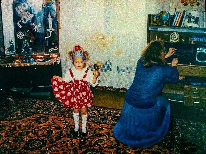 Дарья Мельникова в детстве фото