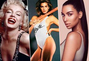 От Мэрилин Монро до Ким Кардашьян: как изменились каноны красоты за 60 лет