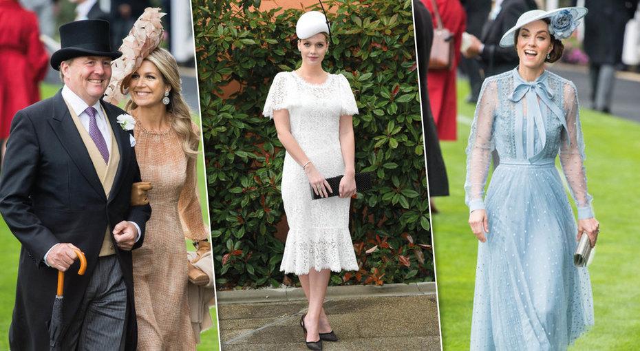 Королевский шик: Кейт Миддлтон идругие монаршие особы наскачках Royal Askot