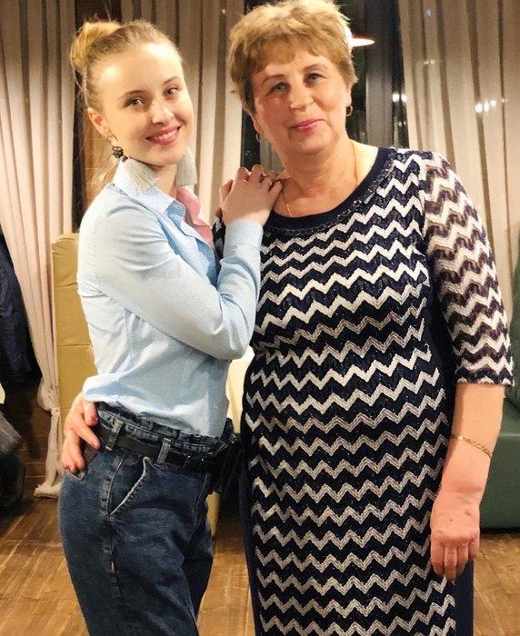 Анна Сагайдачная смамой