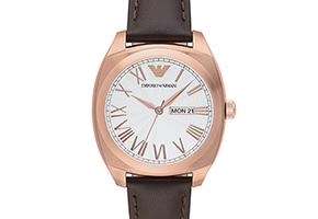 Emporio Armani представили новую коллекцию часов и украшений