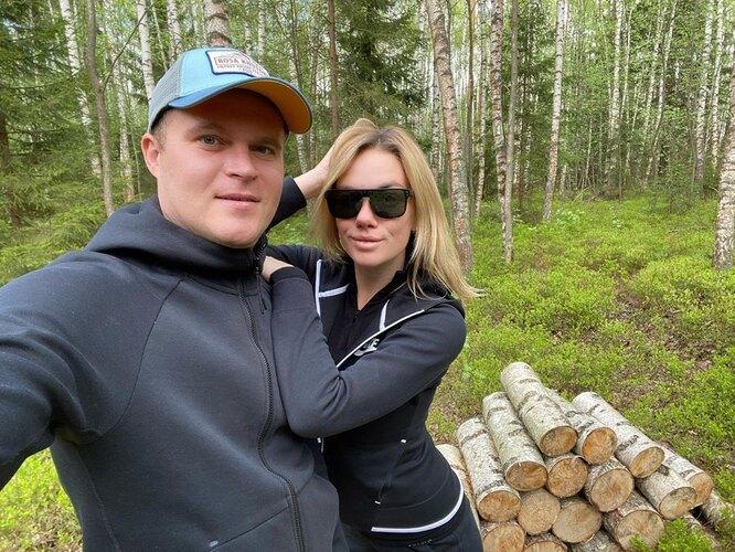 Анастасия Трегубова с мужем