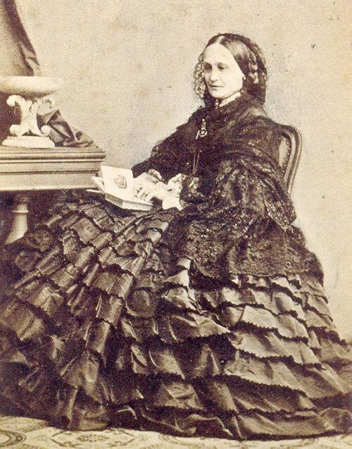 Н. Н. Пушкина-Ланская. Ницца, 1863 (Всероссийский музей А. С. Пушкина)