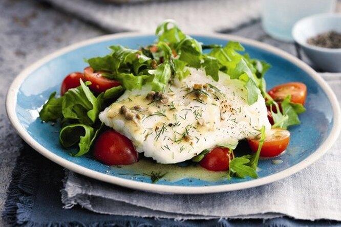 Запеченная рыба по-шведски