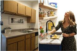 До ипосле: ремонт кухни вмаленькой квартире-студии