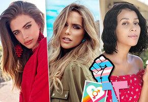 Какая выросла красавица! 13 самых известных моделей, изменивших пол